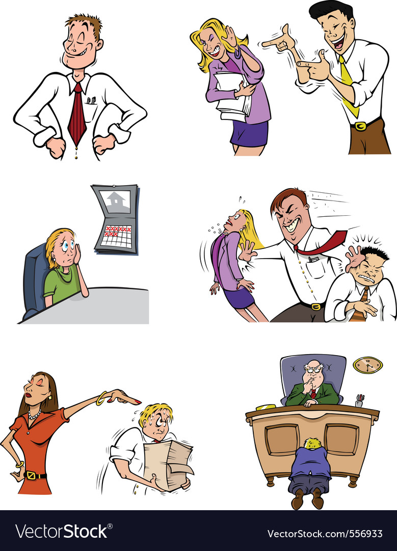 Office life vector | Price: 5 Credit (USD $5)