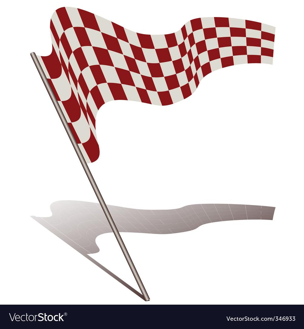 Racing flag vector | Price: 1 Credit (USD $1)