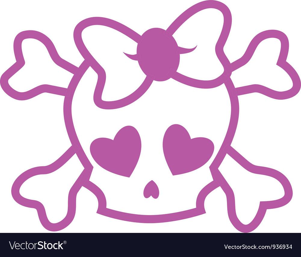 Emo skull vector   Price: 1 Credit (USD $1)