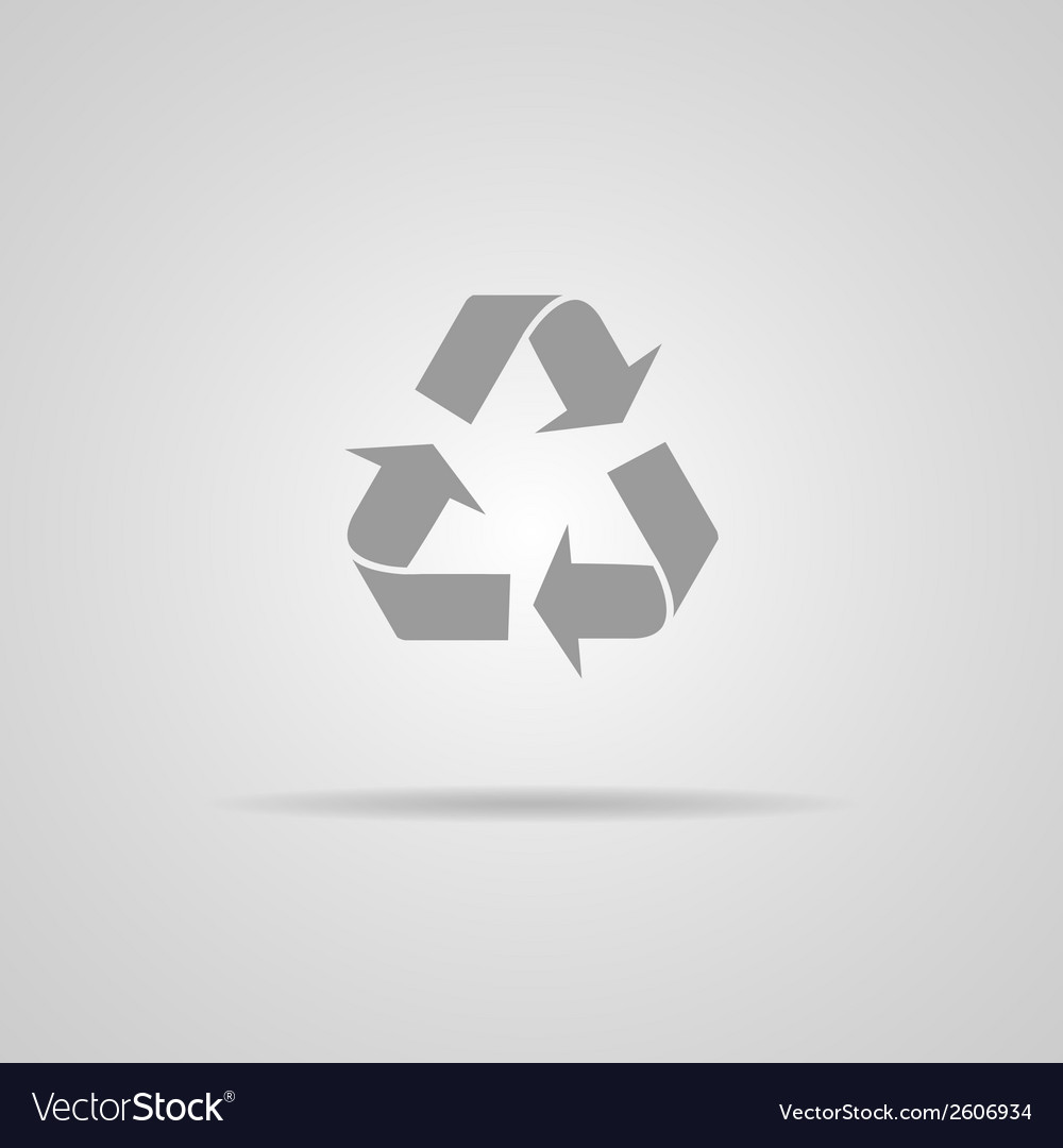 Recycle sign or icon vector | Price: 1 Credit (USD $1)