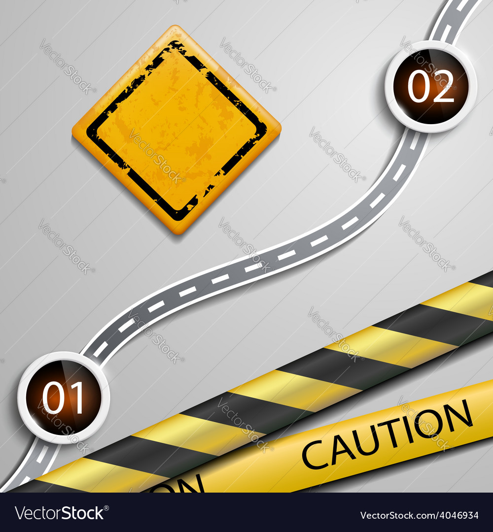 Warning sign vector | Price: 1 Credit (USD $1)