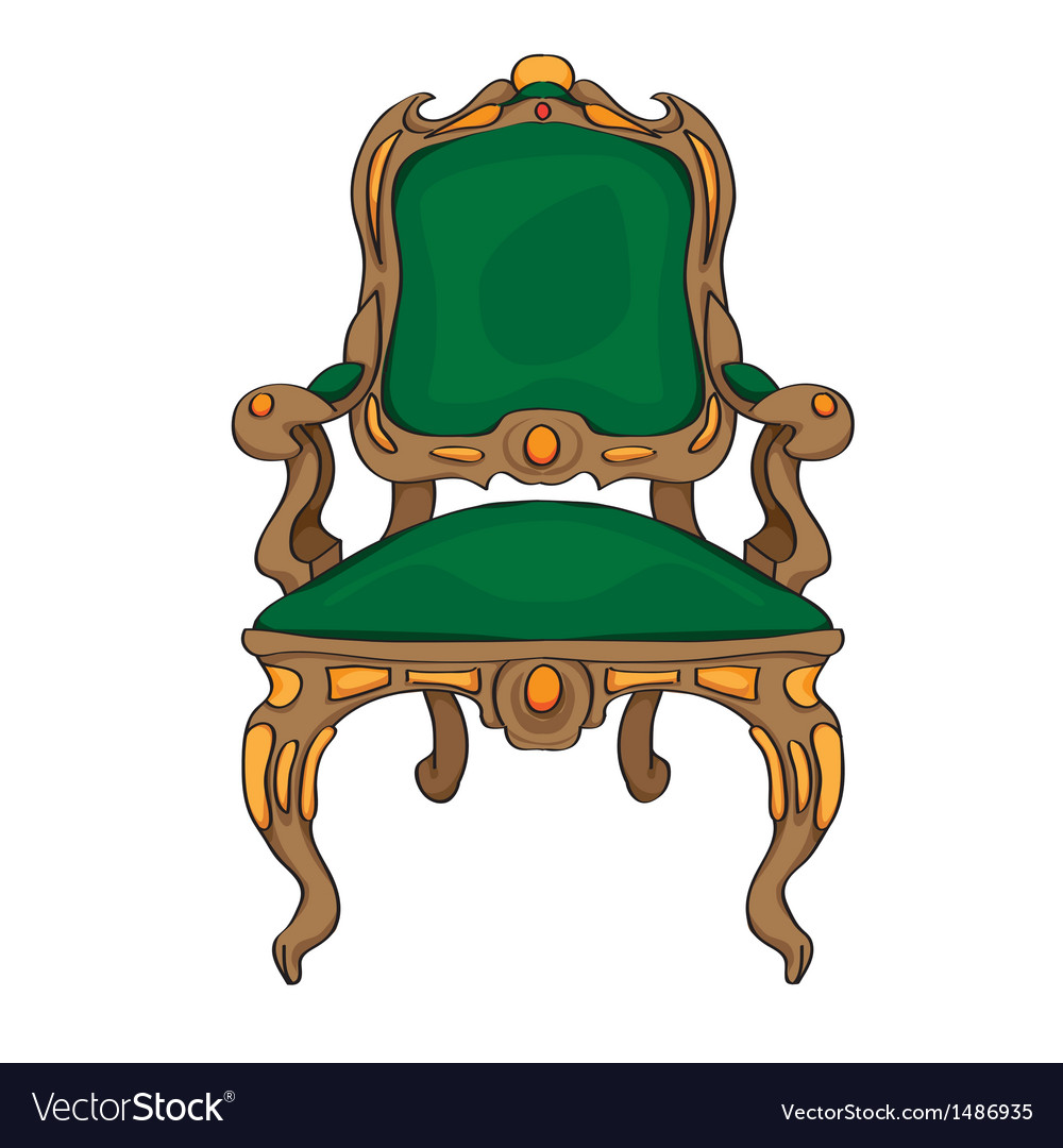 Baroque chair vector | Price: 1 Credit (USD $1)