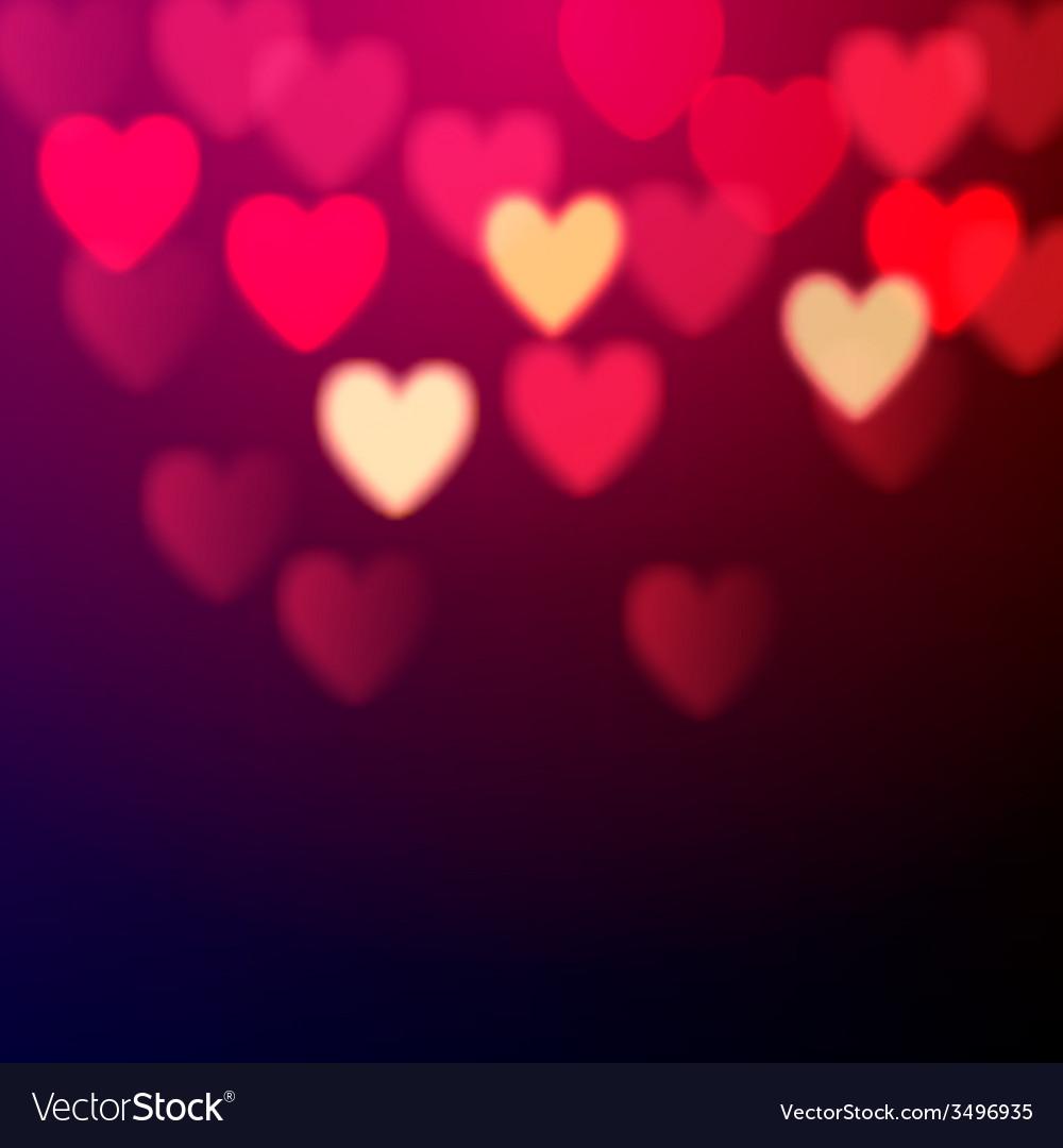Shiny hearts bokeh vector   Price: 1 Credit (USD $1)