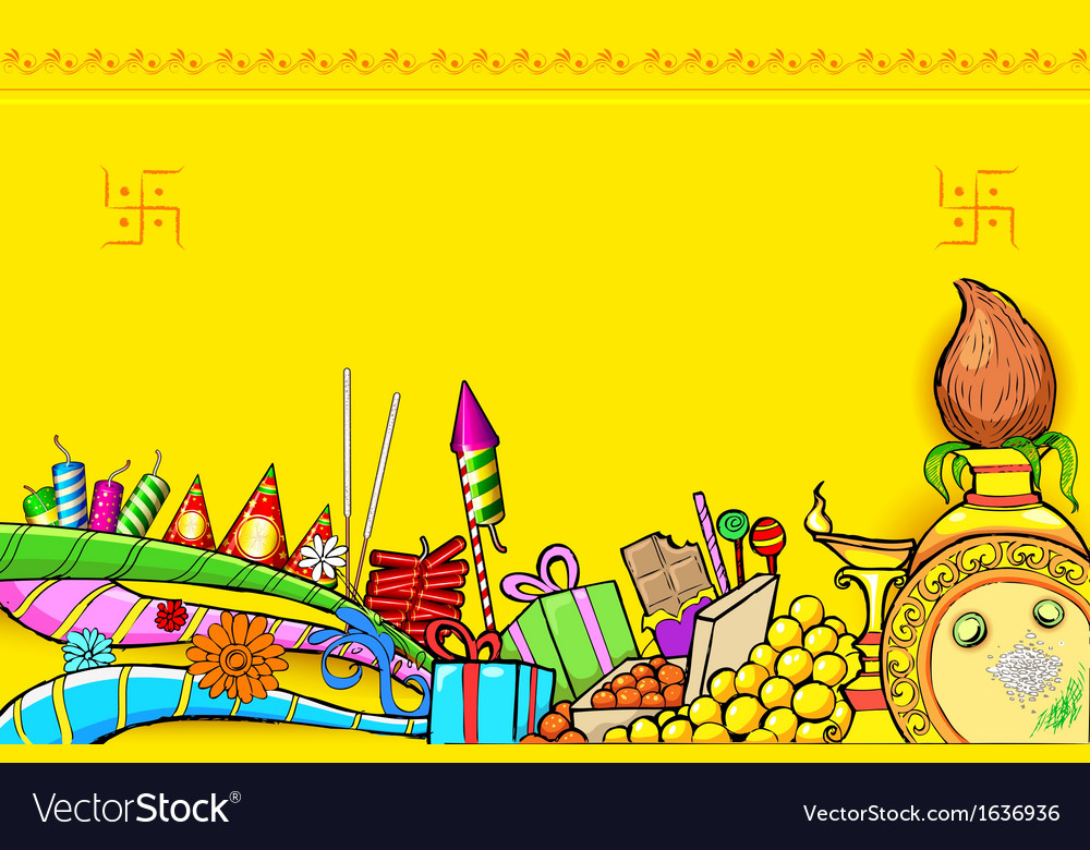 Diwali doodle vector | Price: 1 Credit (USD $1)