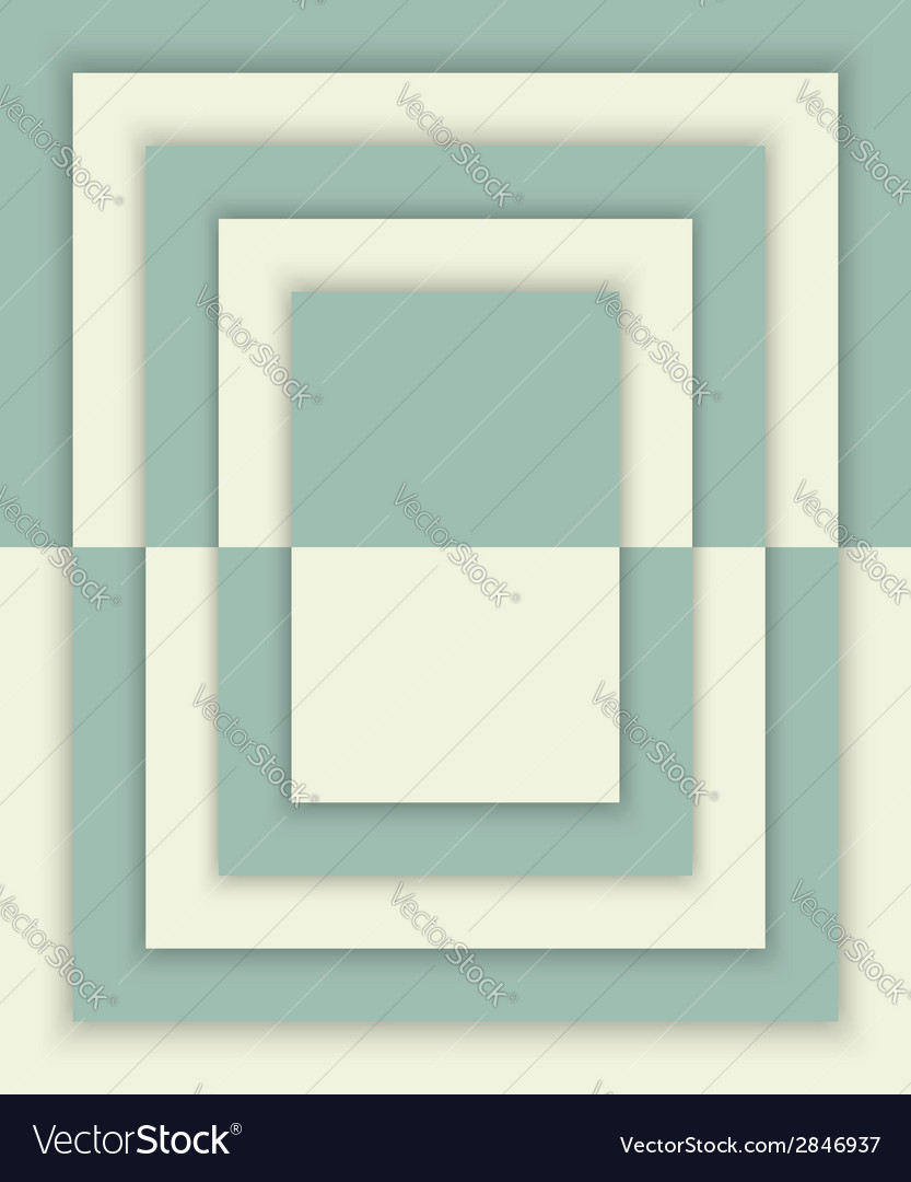 Geometric rectangles background with drop shadows vector   Price: 1 Credit (USD $1)