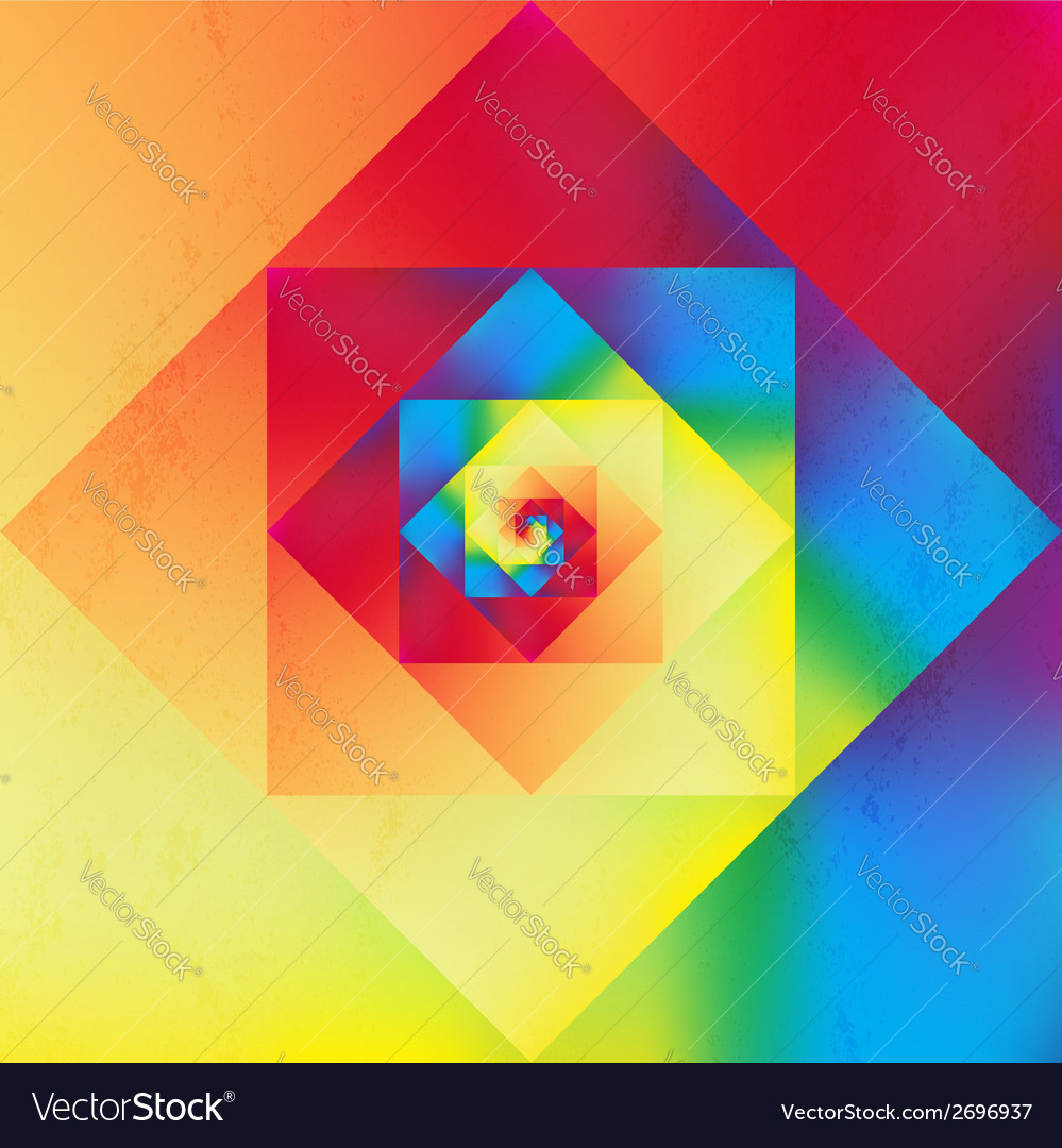 Vibrant optic art geometric pattern vector | Price: 1 Credit (USD $1)