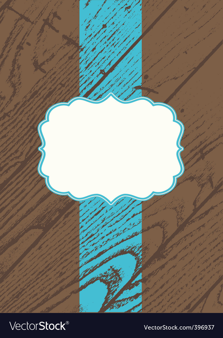 Wooden template vector | Price: 1 Credit (USD $1)