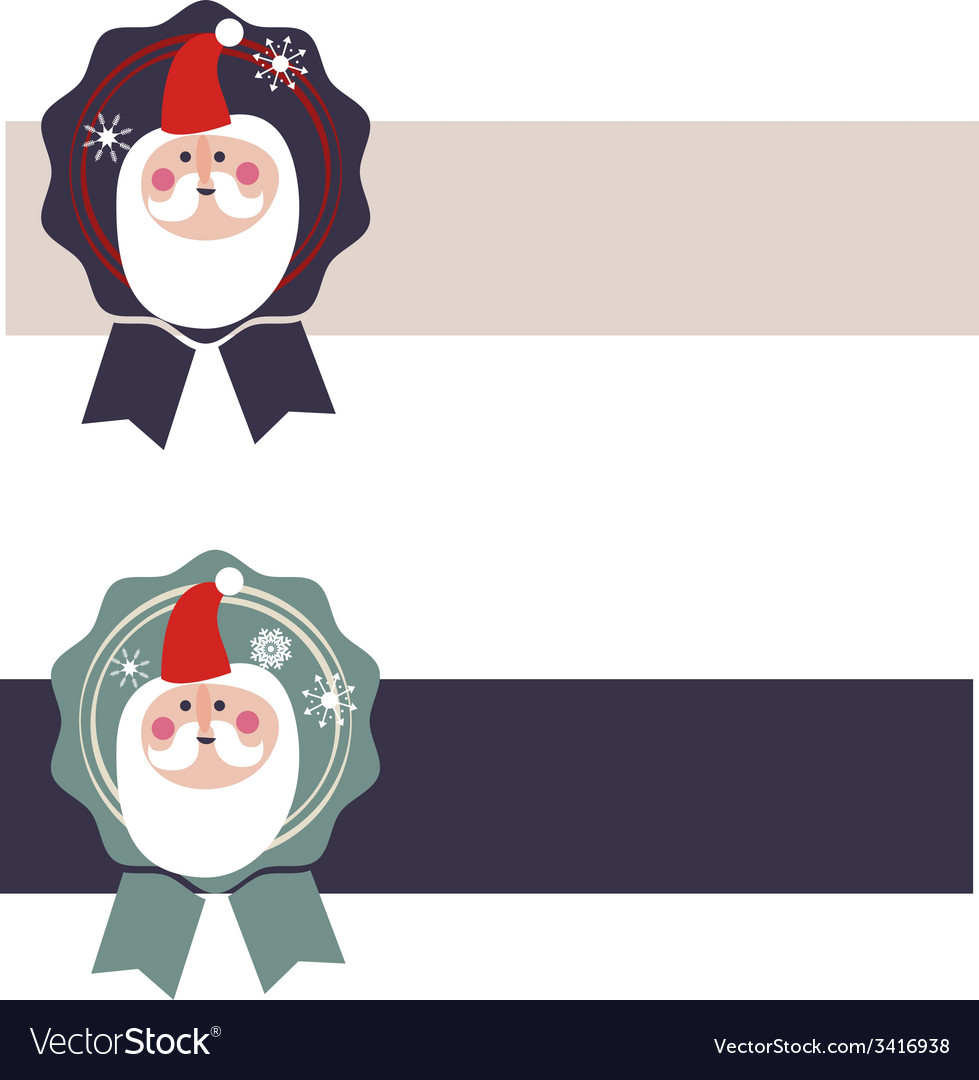 Design with santa claus vector | Price: 1 Credit (USD $1)