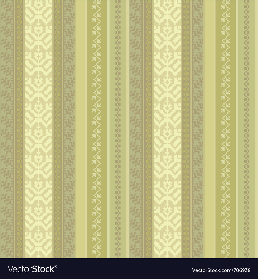 Fabric seamless pattern vector | Price: 1 Credit (USD $1)