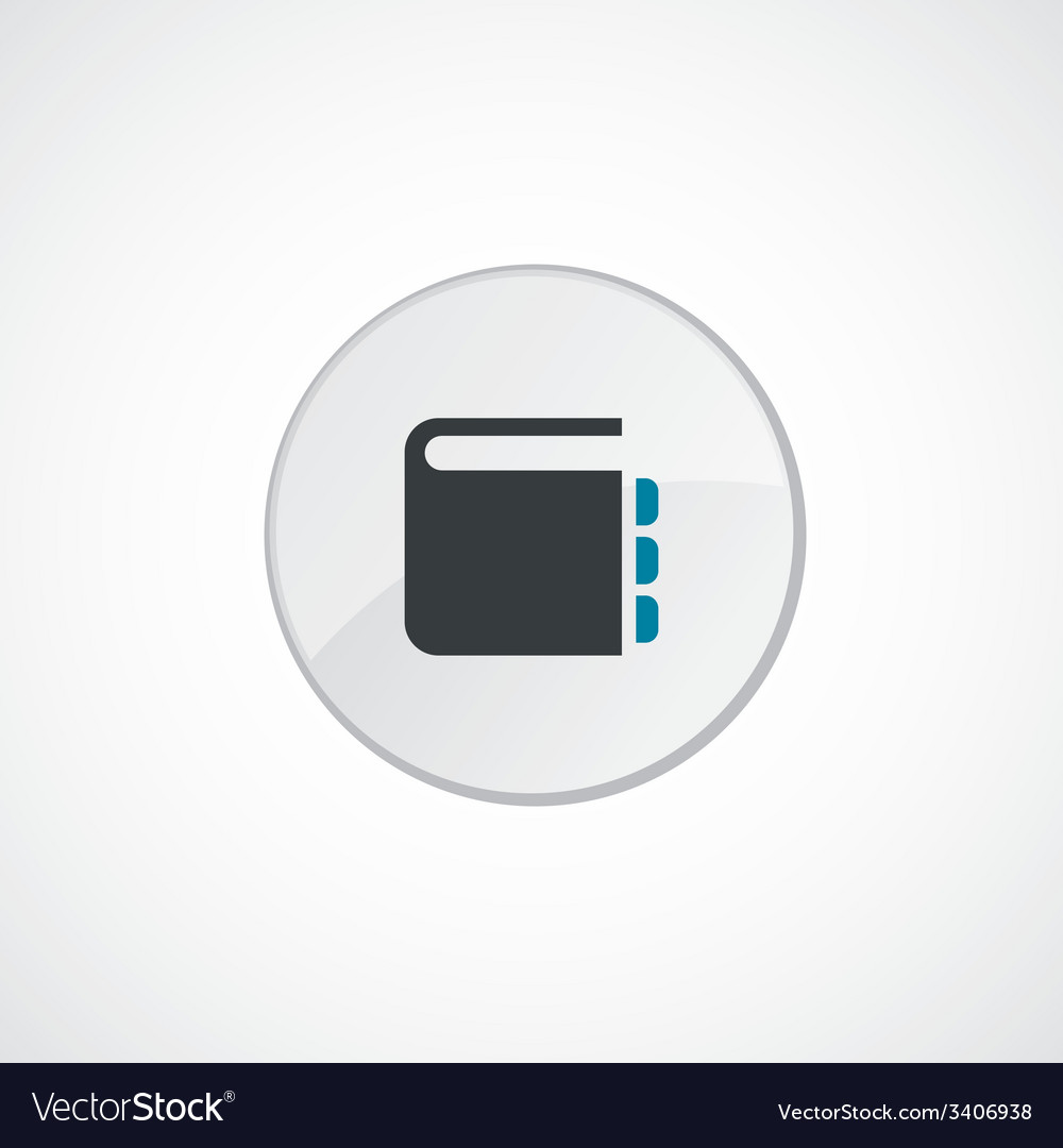 Notepad icon 2 colored vector | Price: 1 Credit (USD $1)