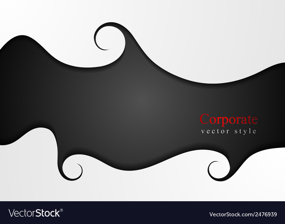 Abstract wavy concept background vector   Price: 1 Credit (USD $1)