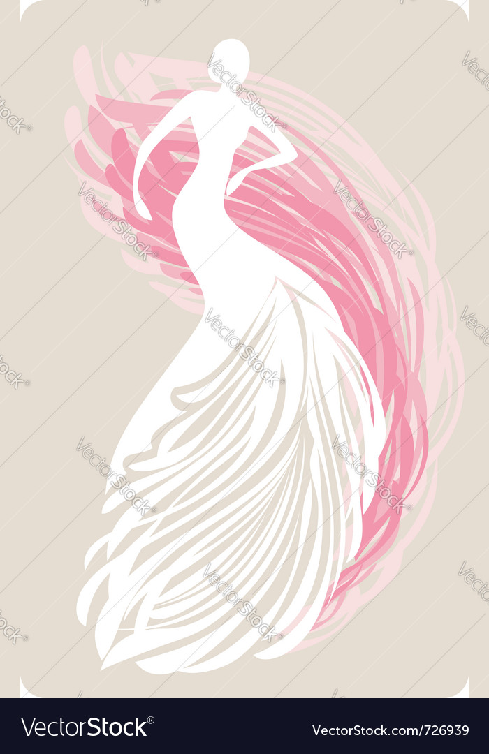Bride mannequin vector | Price: 1 Credit (USD $1)