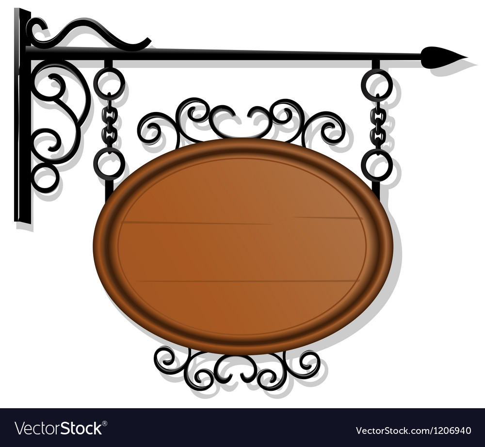 Antique signboard vector | Price: 1 Credit (USD $1)