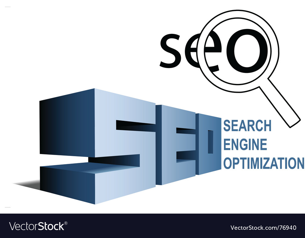 Seo search engine vector | Price: 1 Credit (USD $1)