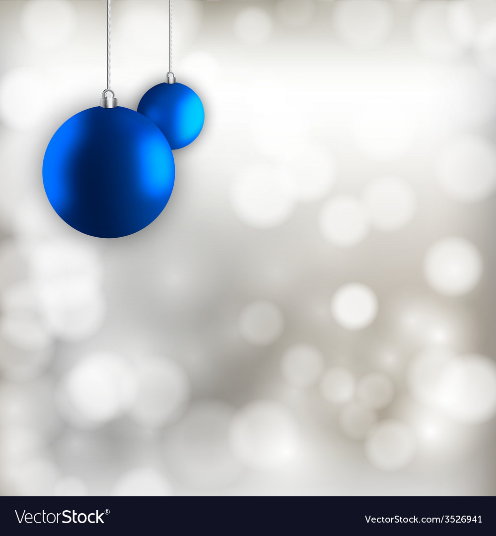 Blue balls vector