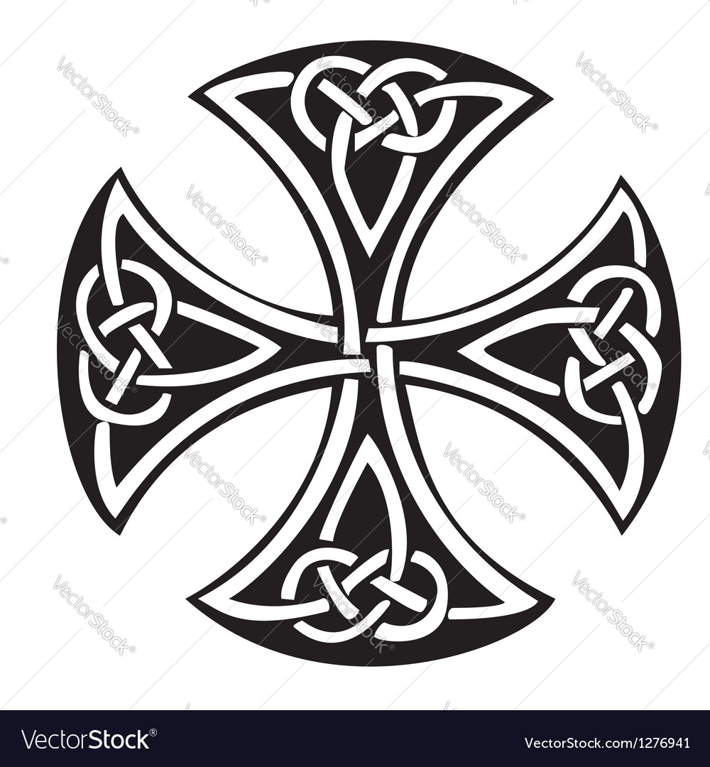 Celtic cross vector | Price: 1 Credit (USD $1)