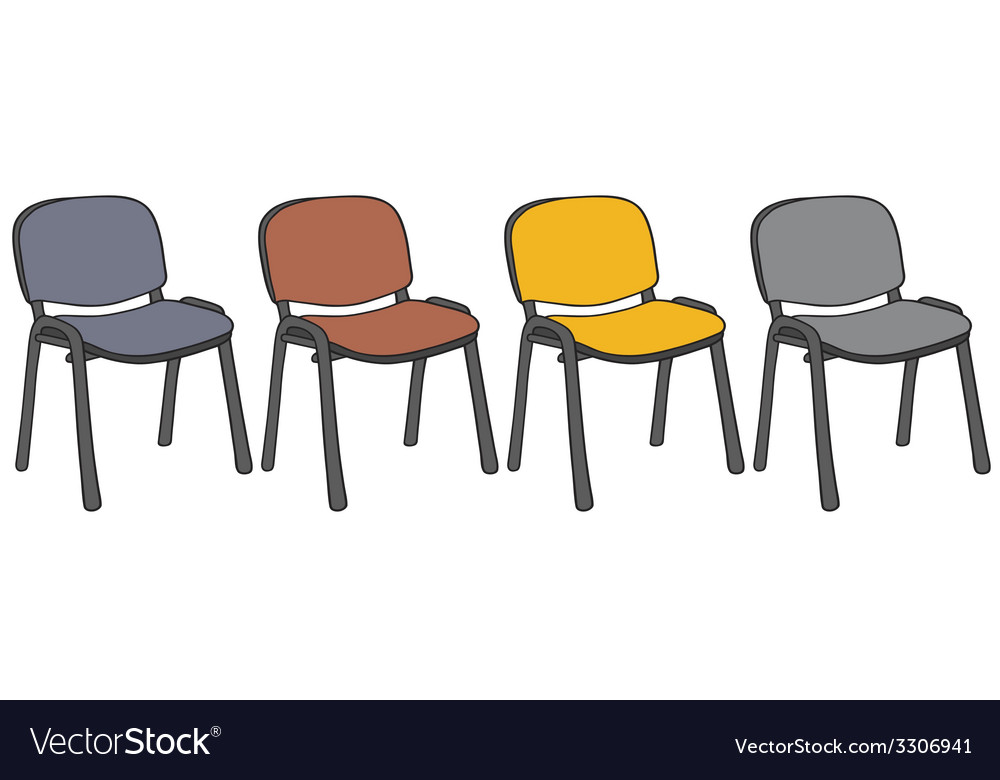 Color chairs vector | Price: 1 Credit (USD $1)