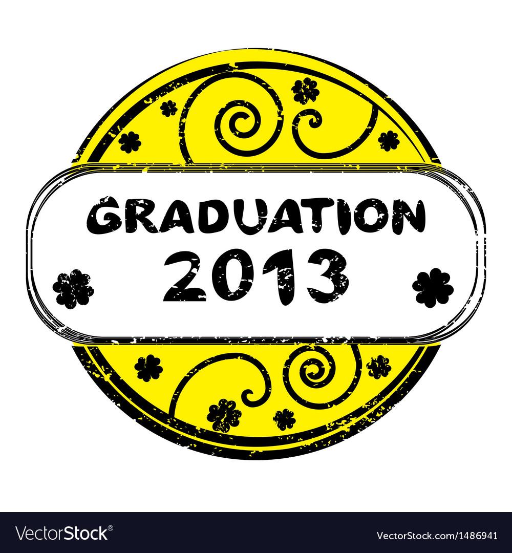 Graduation 2013 vector | Price: 1 Credit (USD $1)