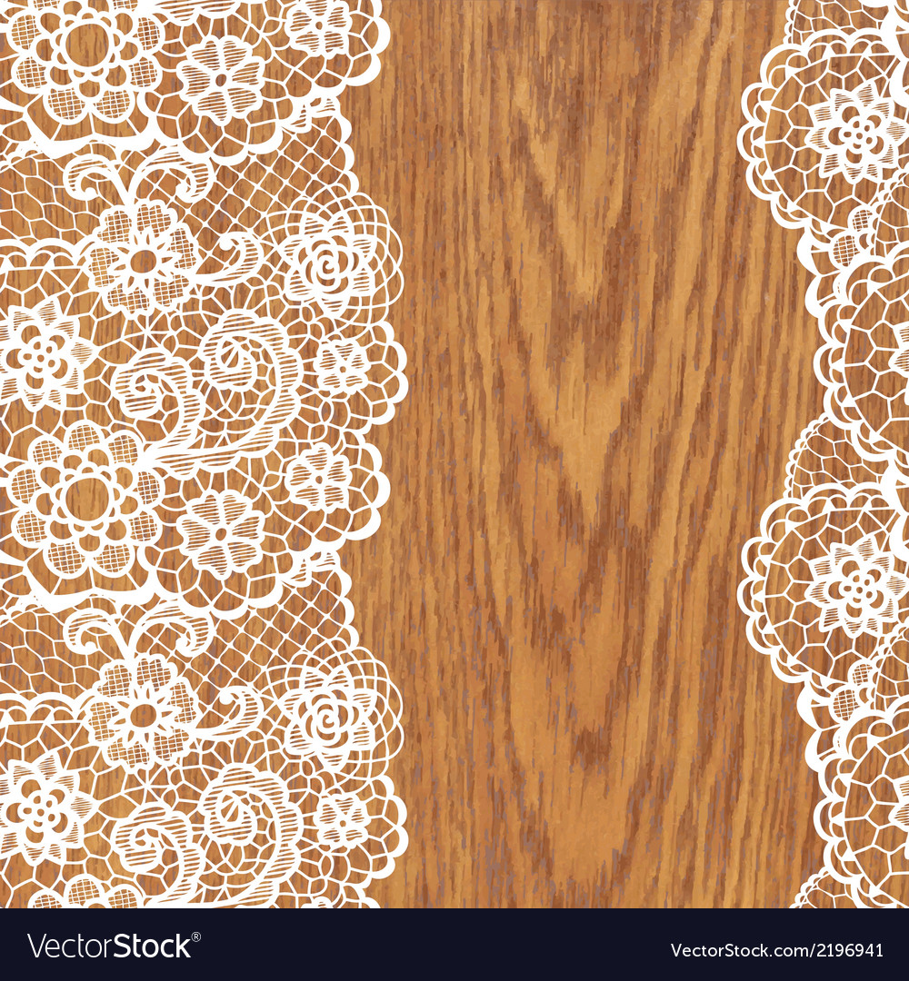 White lace on tree texture vector | Price: 1 Credit (USD $1)