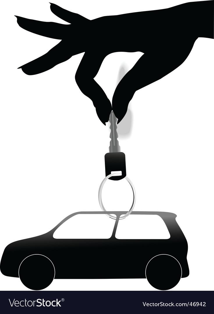 Car keys vector | Price: 1 Credit (USD $1)