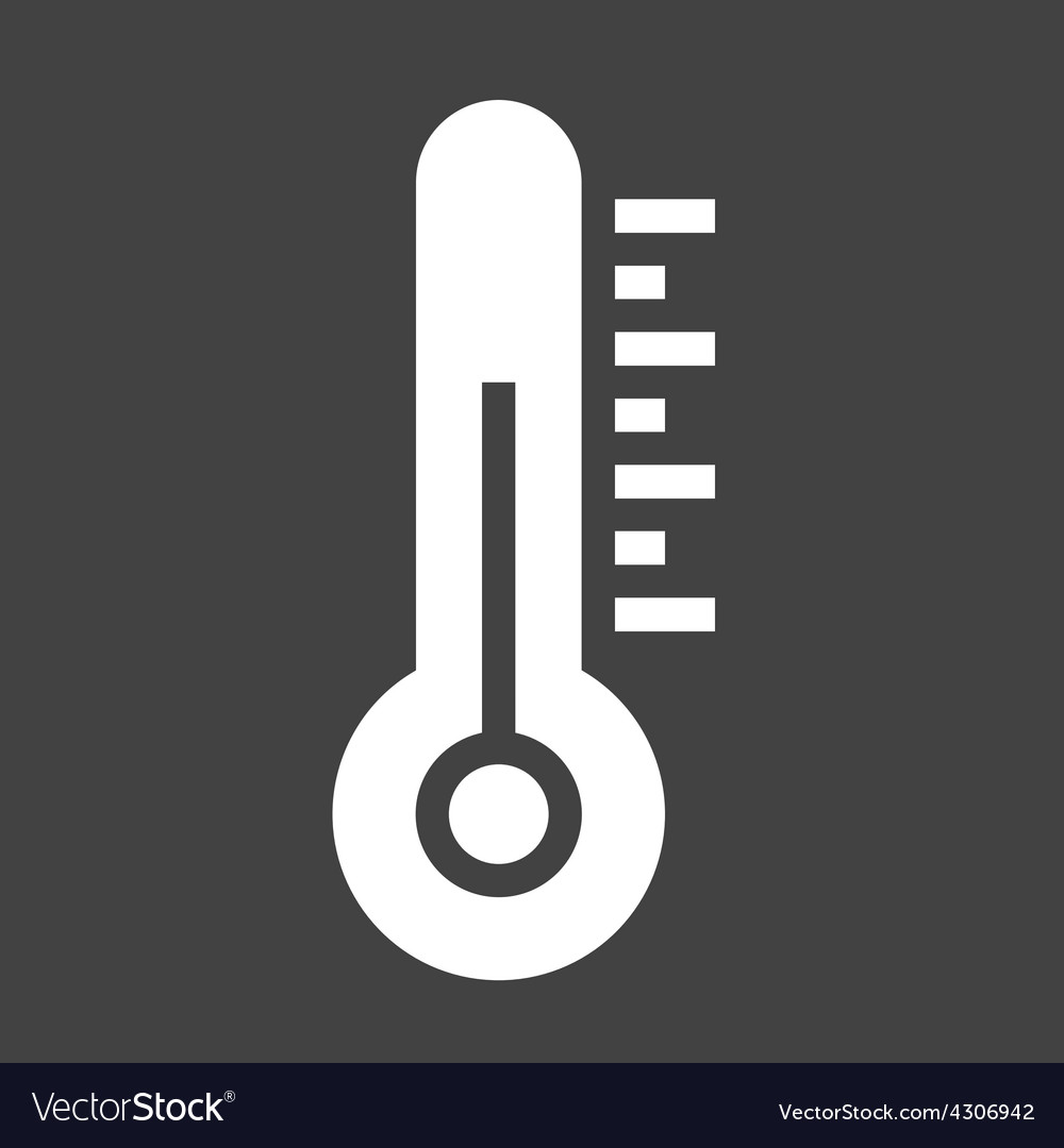 Thermometer vector | Price: 1 Credit (USD $1)