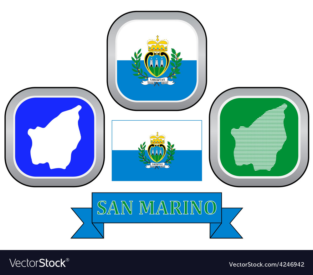 Symbol of san marino vector | Price: 1 Credit (USD $1)
