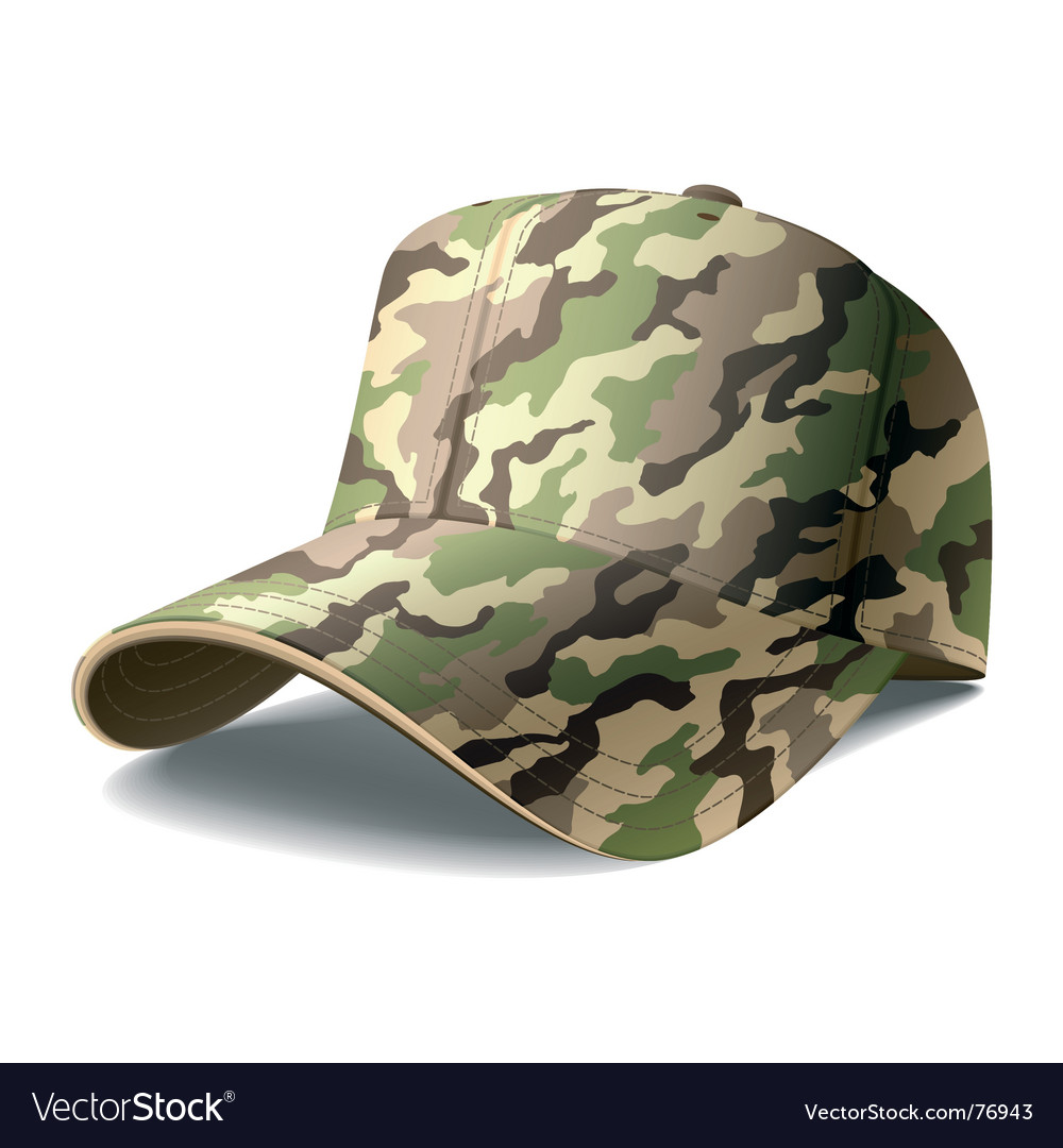Army cap vector | Price: 1 Credit (USD $1)