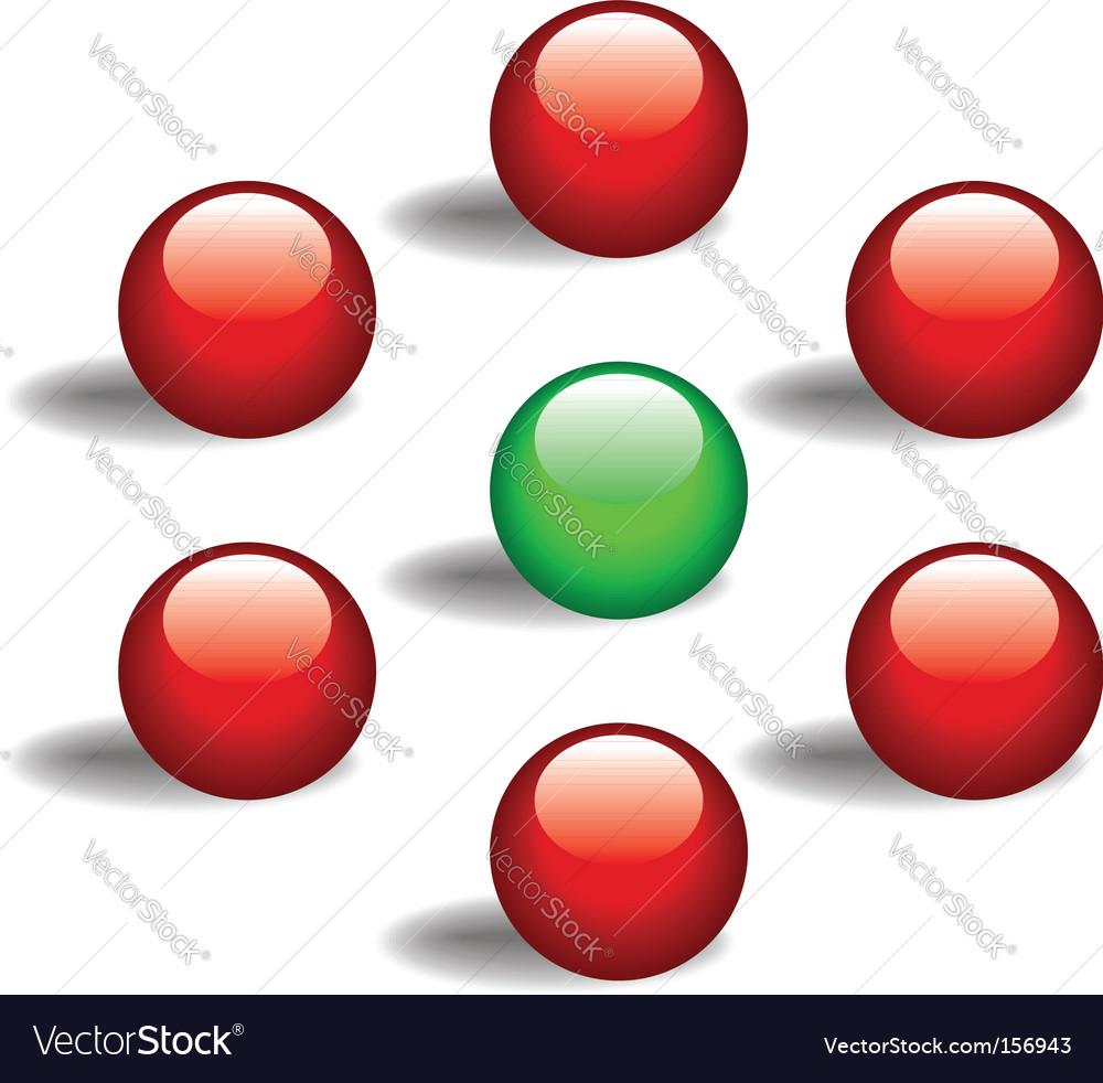 Game balls vector | Price: 1 Credit (USD $1)