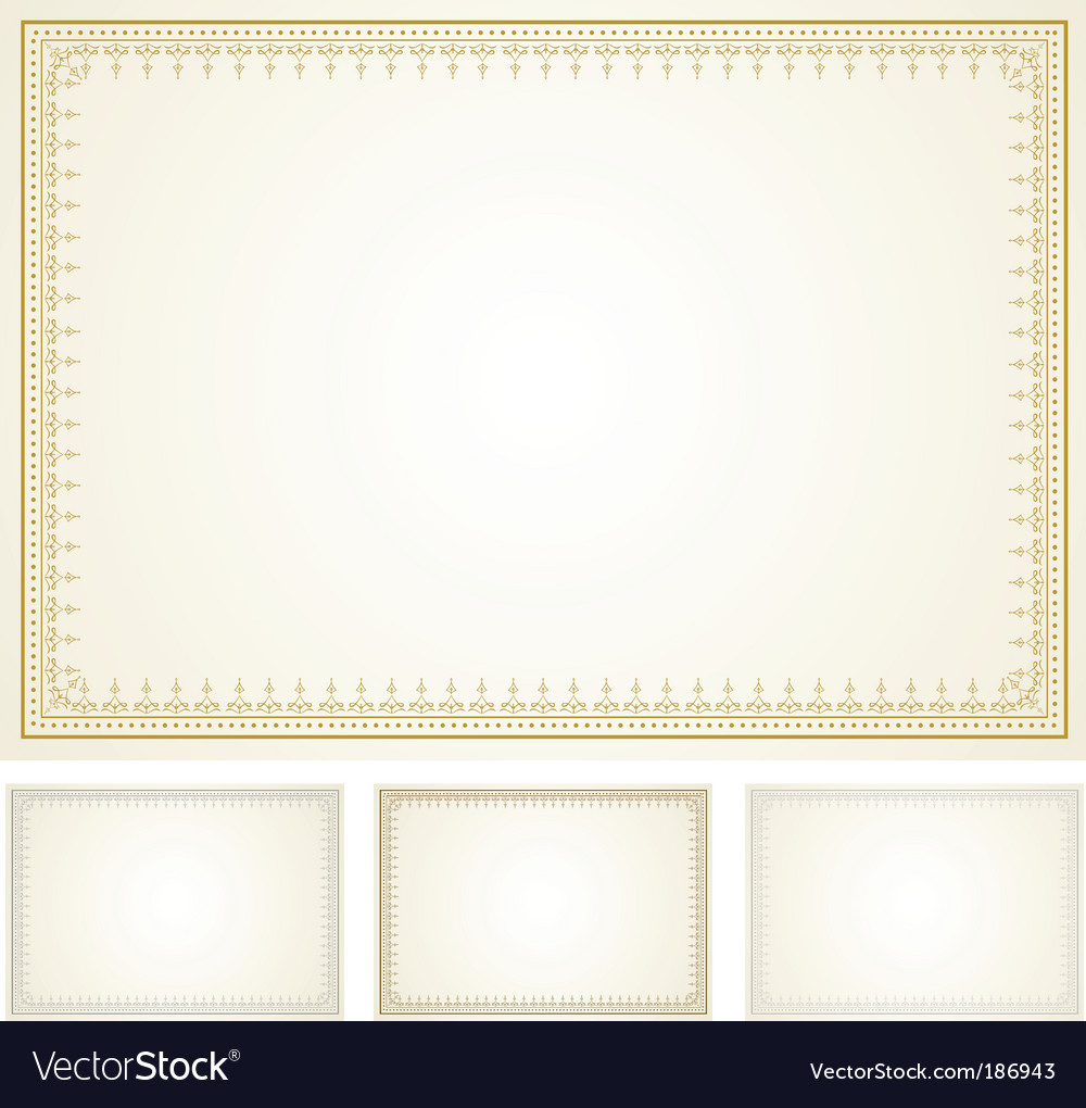 Ornate frame set vector | Price: 1 Credit (USD $1)