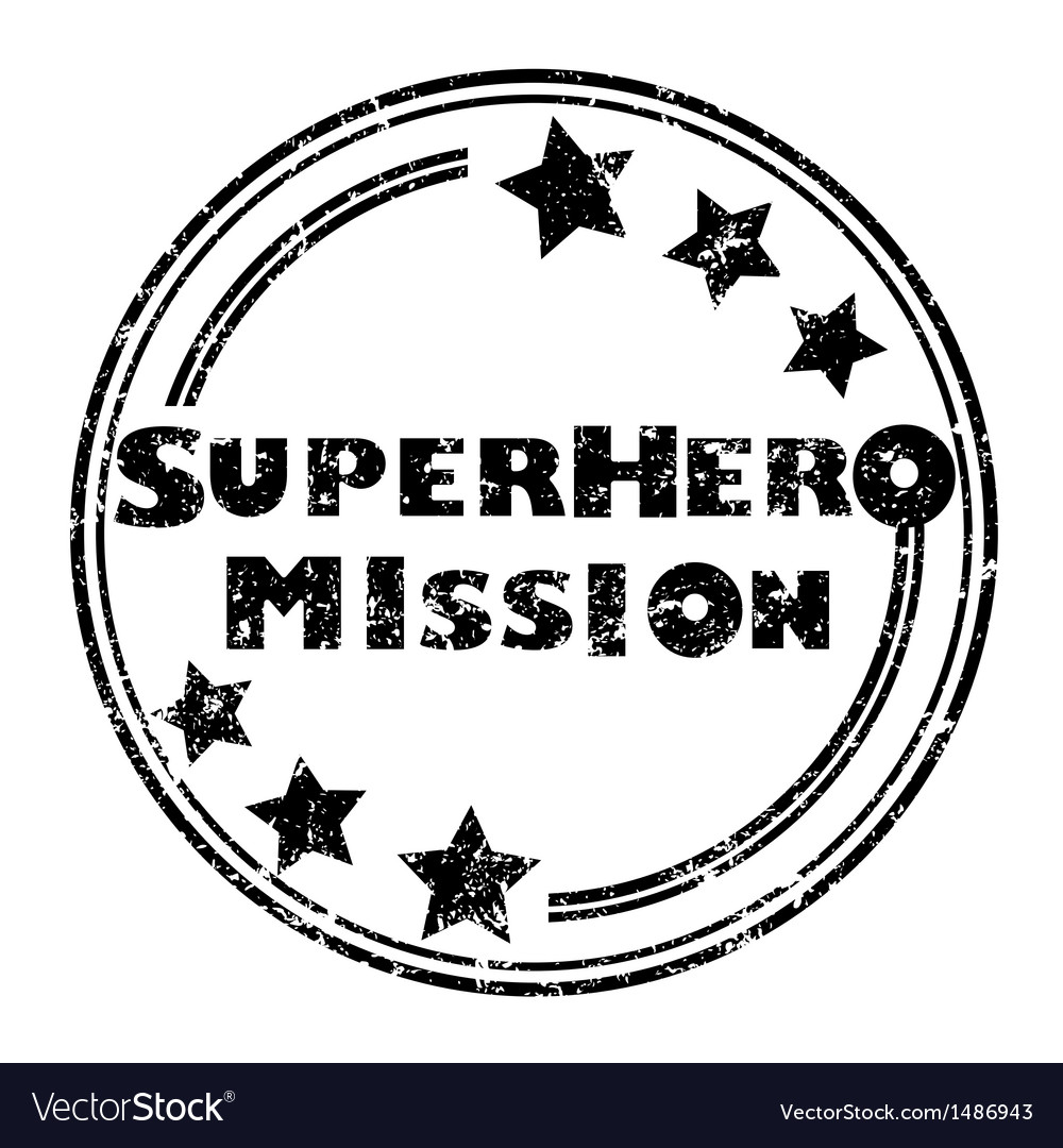 Superhero mission vector | Price: 1 Credit (USD $1)