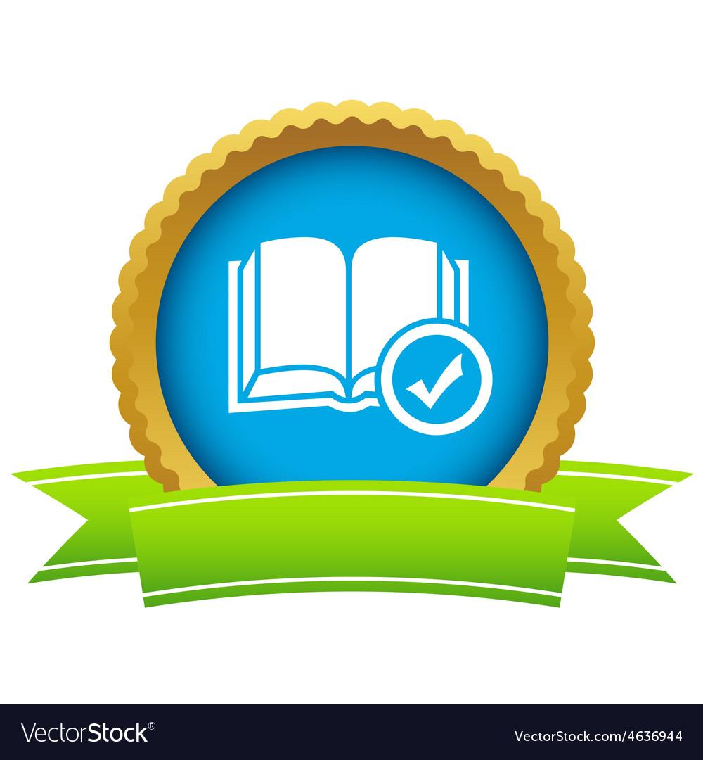 Chosen book icon vector | Price: 1 Credit (USD $1)