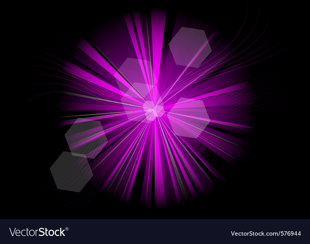 Purple rays on the black vector | Price: 1 Credit (USD $1)