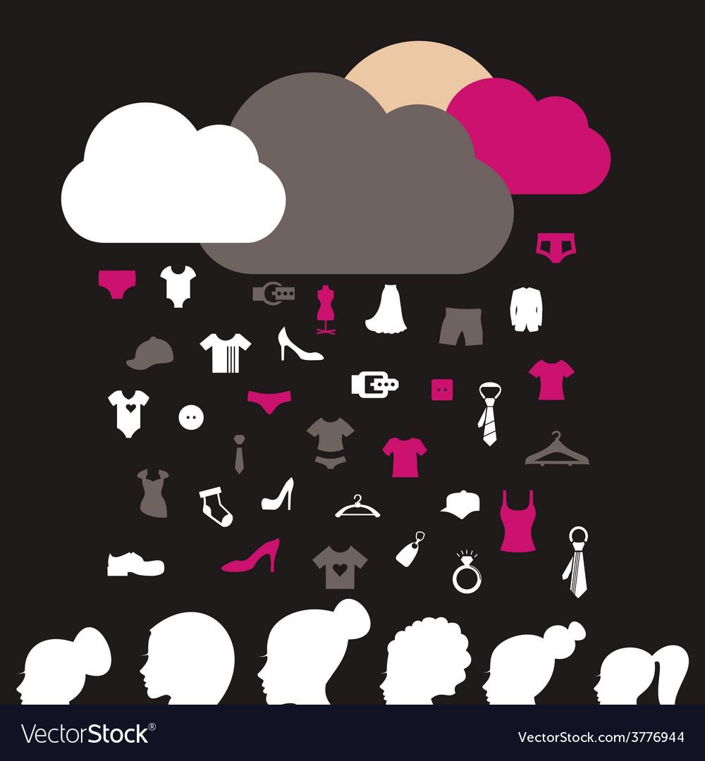 Rain clothes vector   Price: 1 Credit (USD $1)