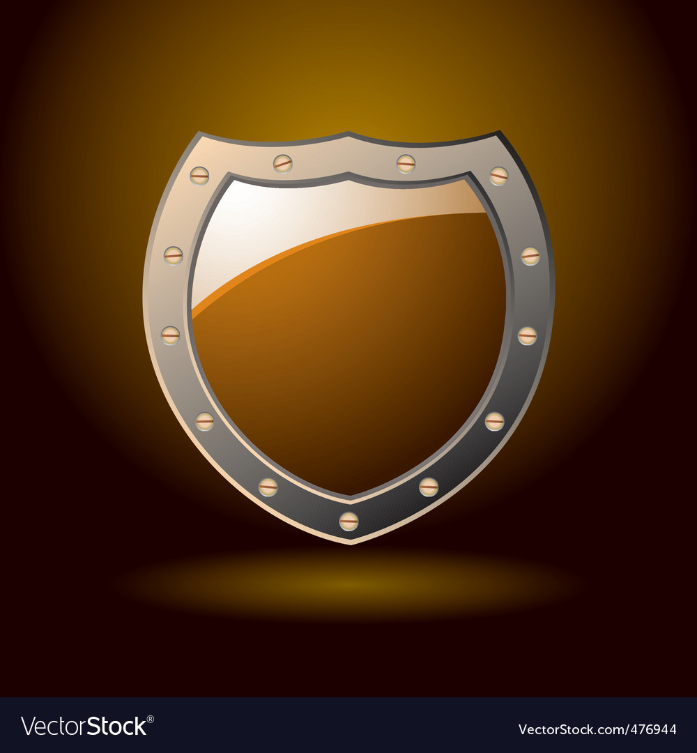 Secure shield blank vector | Price: 1 Credit (USD $1)