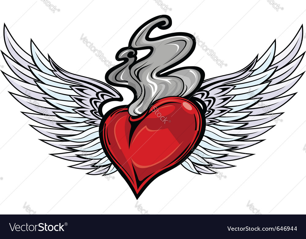 Tattoo heart vector | Price: 3 Credit (USD $3)