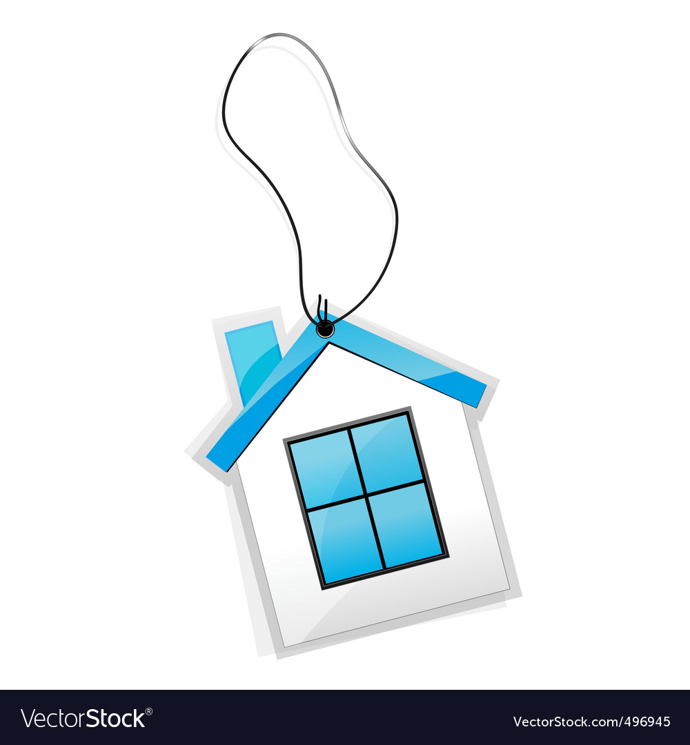 House tag vector | Price: 1 Credit (USD $1)