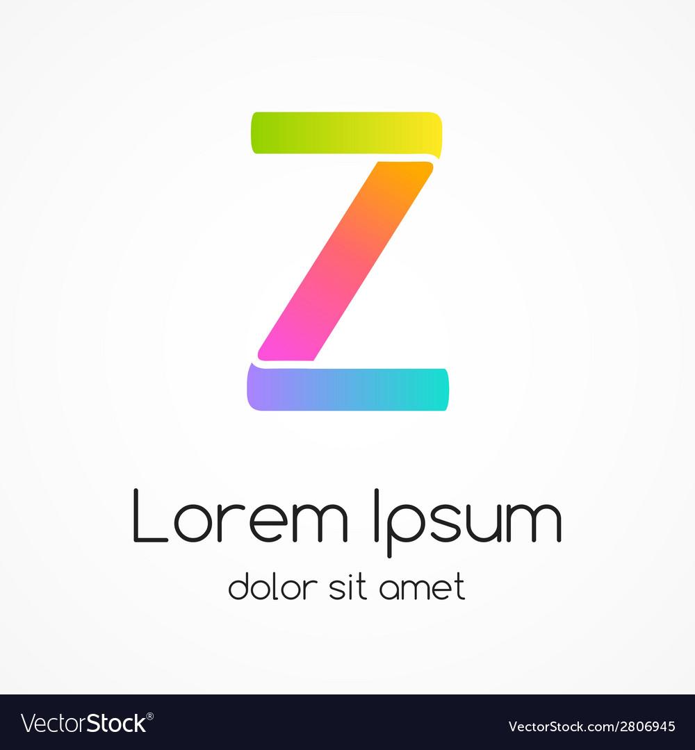 Logo letter z company design template vector | Price: 1 Credit (USD $1)