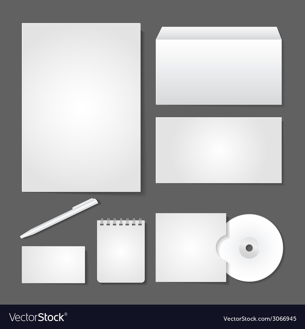 Office supply set design vector | Price: 1 Credit (USD $1)