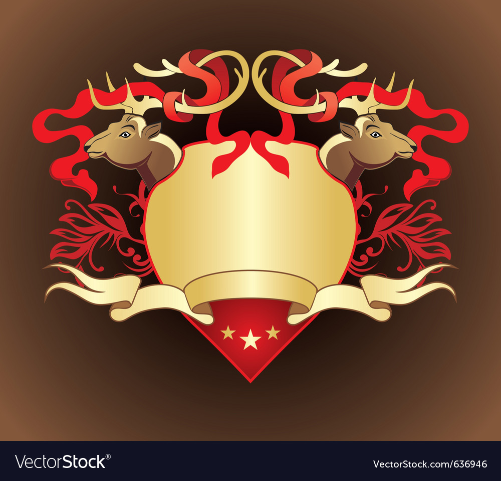 Heraldry crest vector | Price: 1 Credit (USD $1)