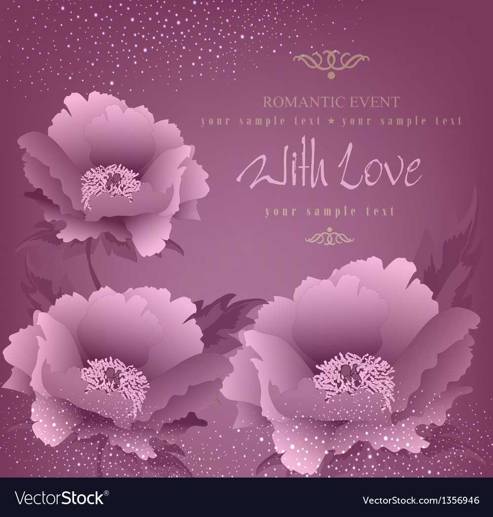 Romance background vector | Price: 1 Credit (USD $1)