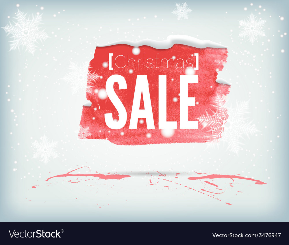 Christmass inky banner vector | Price: 1 Credit (USD $1)