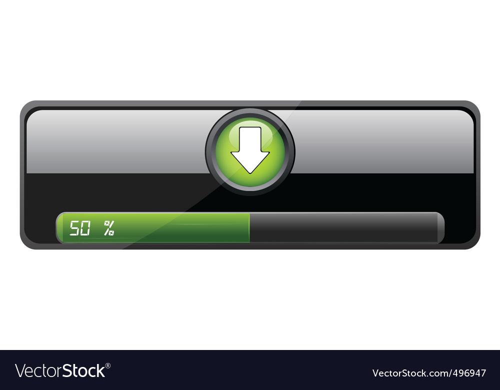 Downloading bar vector | Price: 1 Credit (USD $1)