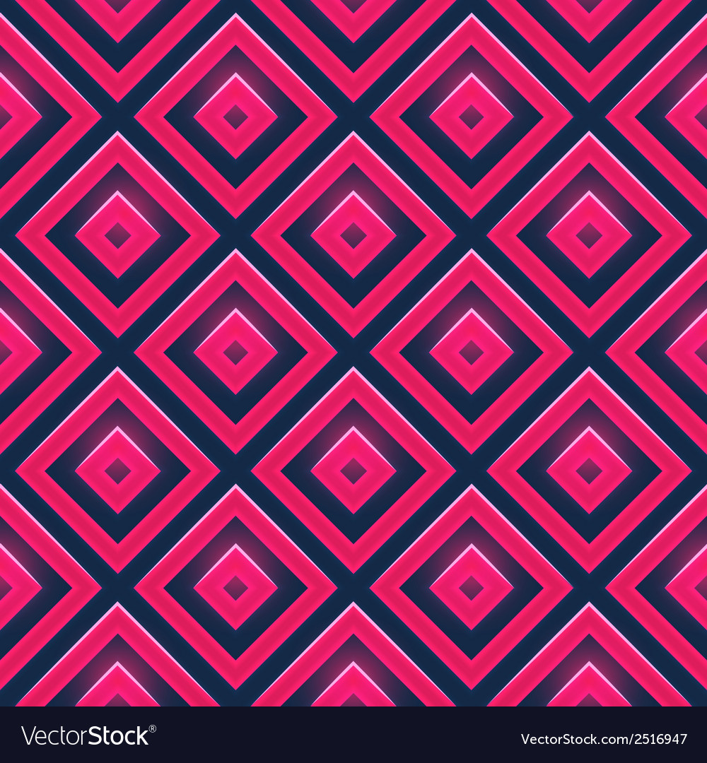 Seamless pattern with squares vector | Price: 1 Credit (USD $1)