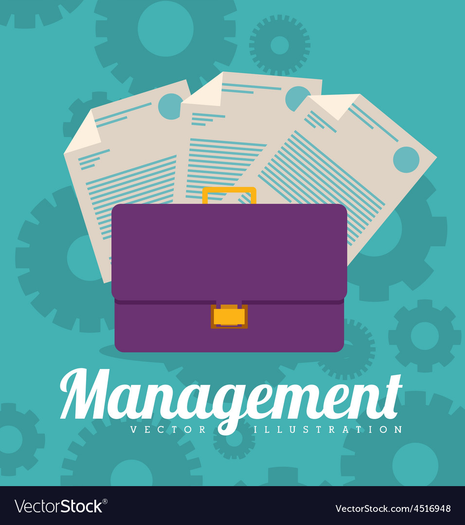 Management design vector | Price: 1 Credit (USD $1)