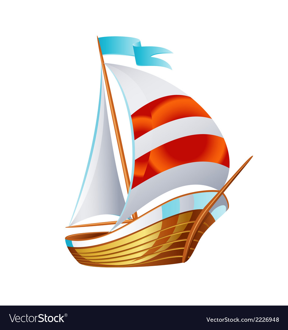 Sailing icons art symbol vector | Price: 1 Credit (USD $1)