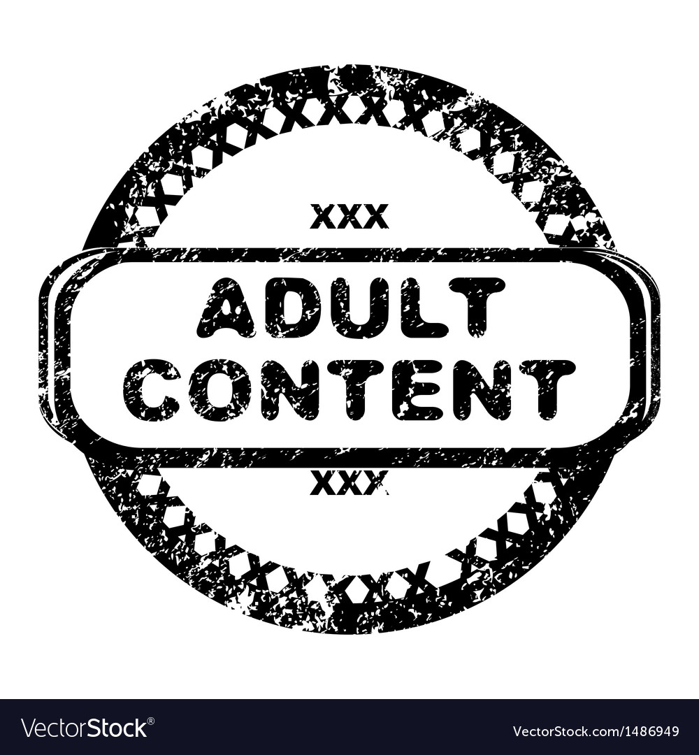 Adult content vector | Price: 1 Credit (USD $1)
