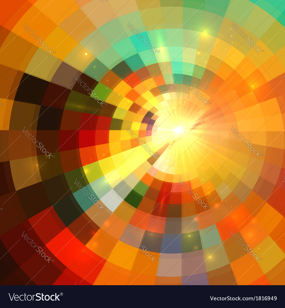 Colorful abstract mosaic mottled background vector | Price: 1 Credit (USD $1)