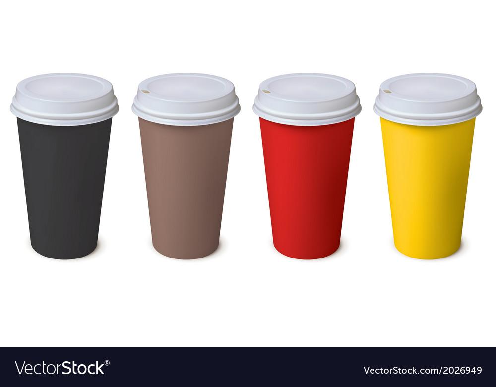 Cup set vector | Price: 1 Credit (USD $1)