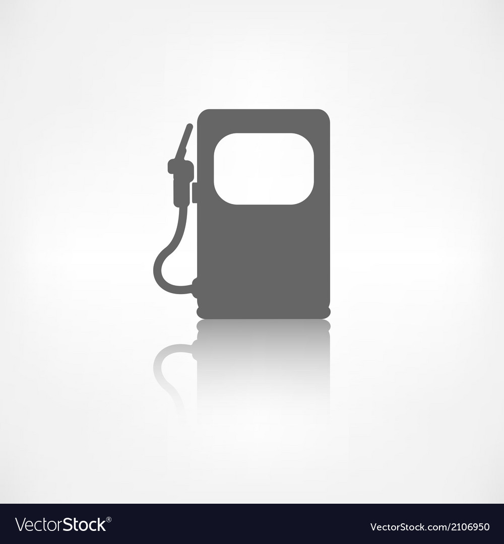 Gas fuel station icon vector | Price: 1 Credit (USD $1)