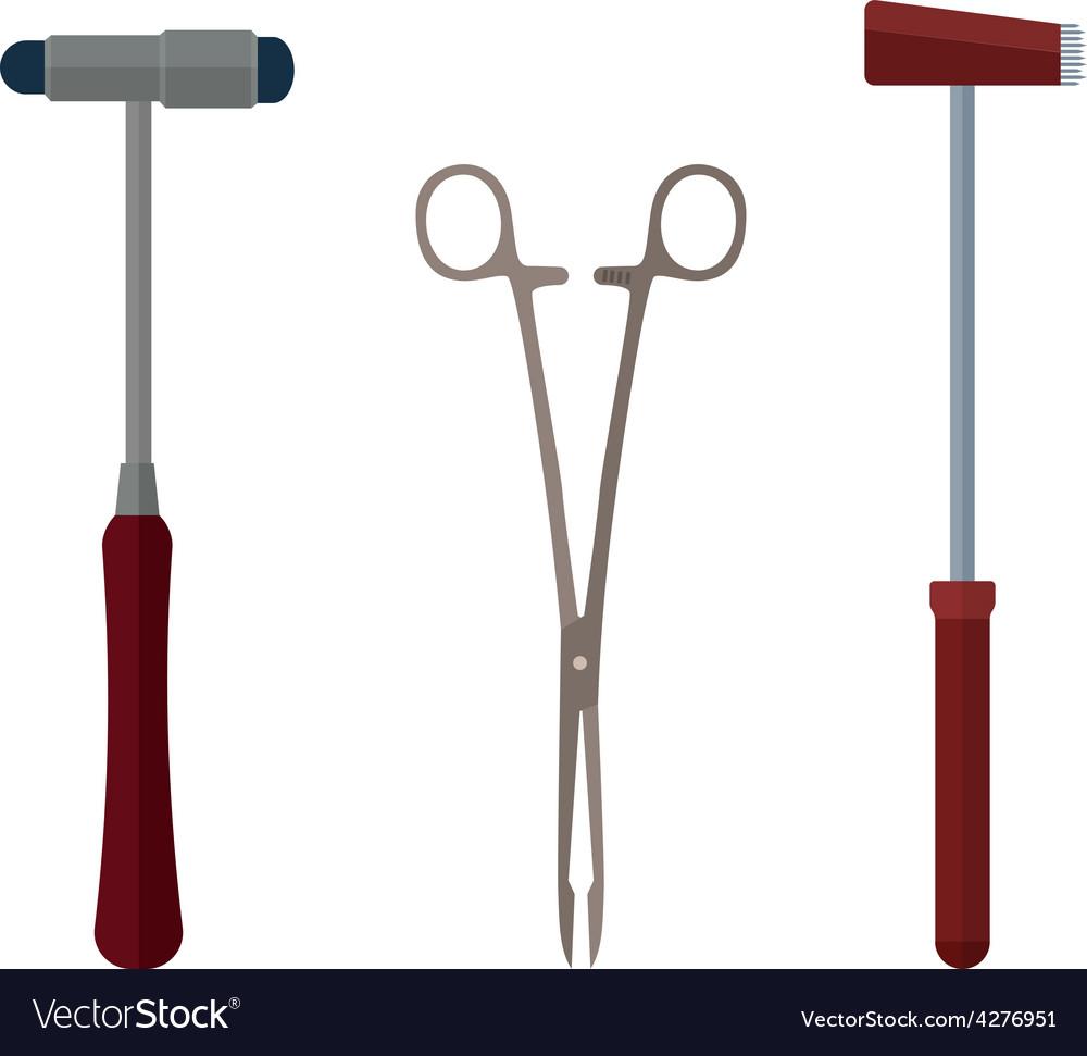 Medical instruments vector | Price: 1 Credit (USD $1)